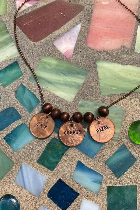 Milestones Penny Necklace